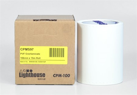CPM-100 PVF Laminat 106 mm x 15 m